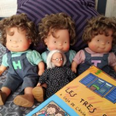Muñecas Españolas Modernas: LES TRES BESSONES. BRUIXA AVORRIDA.LLIBRE. Lote 165599622