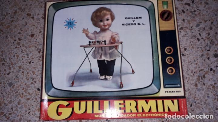 MUÑECA GUILLERMIN DE GUILLEN Y VICEDO S.L., JUGUETE ANTIGUO, MUÑECA ANTIGUA, MUÑECA QUE ANDA (Juguetes - Otras Muñecas Españolas Modernas)