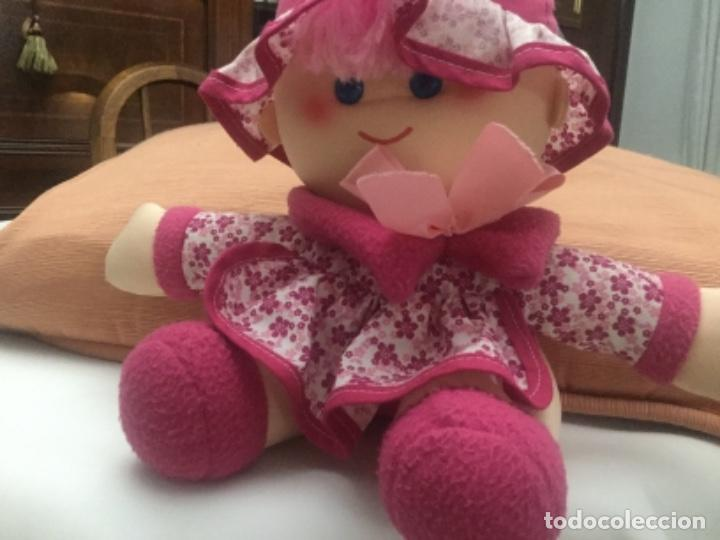 Muñecas Españolas Modernas: Muñeca de trapo hecha a mano Muñeca de tela o trapo de 55 cm. de alta, es toda hecha a mano, rellen - Foto 2 - 164864130