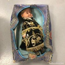 Bonecas Espanholas Modernas: ANTIGUA MUÑECA FOLK, CON CAJA ORIGINAL.. Lote 168043540