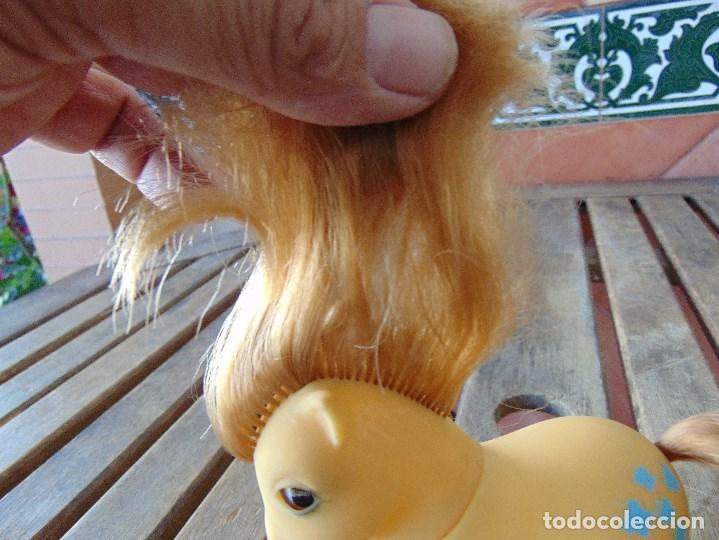 Muñecas Españolas Modernas: PEQUEÑO PONY OJOS DURMIENTES PIGGY LITTLE PONY ORIGINAL AÑOS 80 MARIPOSAS - Foto 11 - 168598608