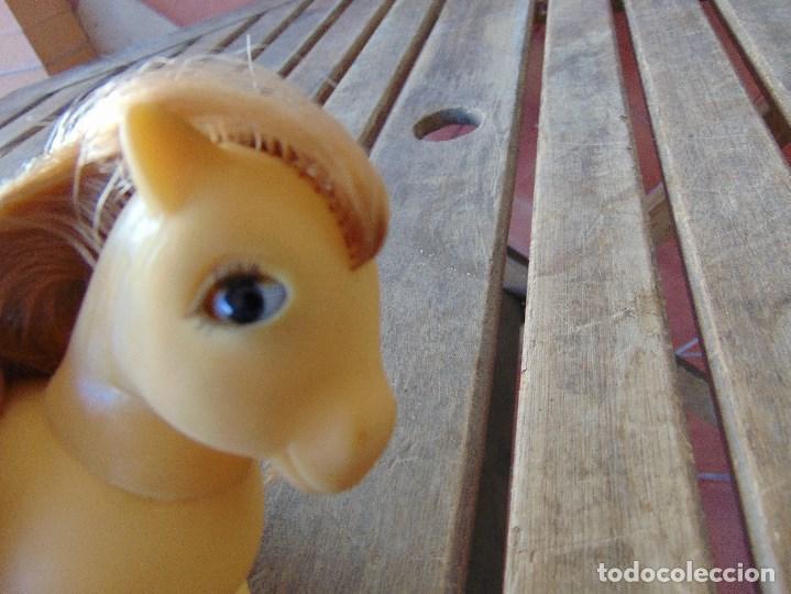 Muñecas Españolas Modernas: PEQUEÑO PONY OJOS DURMIENTES PIGGY LITTLE PONY ORIGINAL AÑOS 80 MARIPOSAS - Foto 14 - 168598608