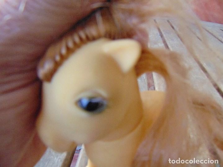 Muñecas Españolas Modernas: PEQUEÑO PONY OJOS DURMIENTES PIGGY LITTLE PONY ORIGINAL AÑOS 80 MARIPOSAS - Foto 16 - 168598608