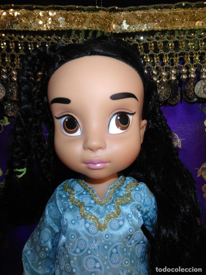 Muñecas Españolas Modernas: Preciosa Muñeca Jasmine,1°Edición,Animators De Colección Disney Store Original,Aladdin. - Foto 2 - 168647792