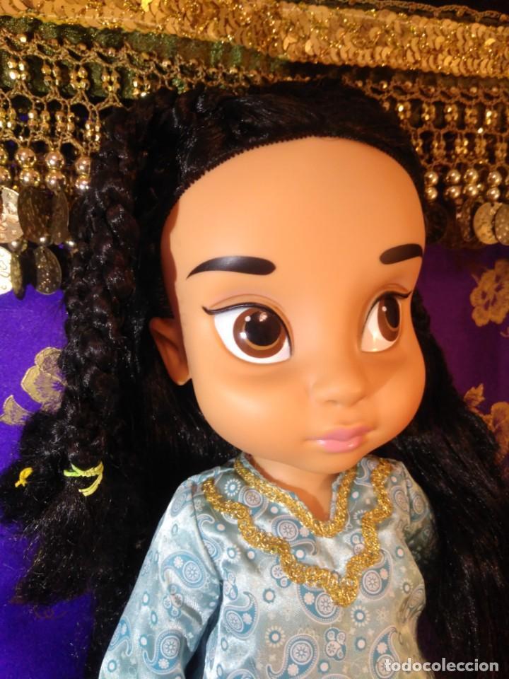 Muñecas Españolas Modernas: Preciosa Muñeca Jasmine,1°Edición,Animators De Colección Disney Store Original,Aladdin. - Foto 3 - 168647792