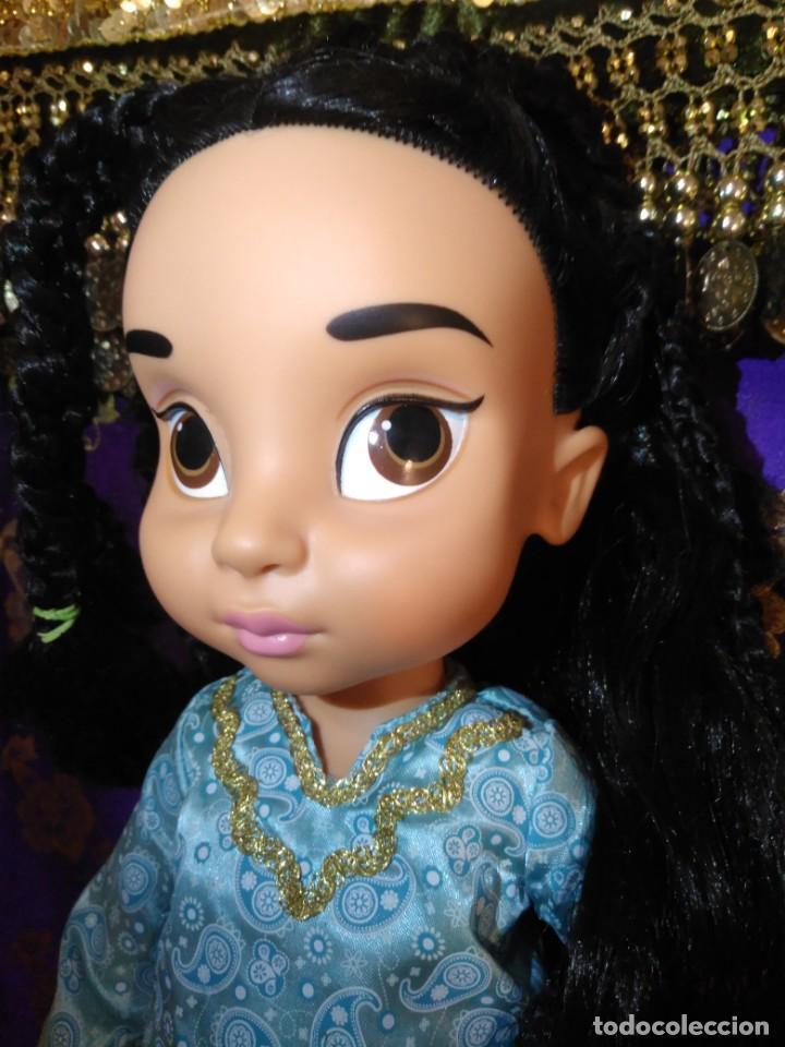 Muñecas Españolas Modernas: Preciosa Muñeca Jasmine,1°Edición,Animators De Colección Disney Store Original,Aladdin. - Foto 4 - 168647792