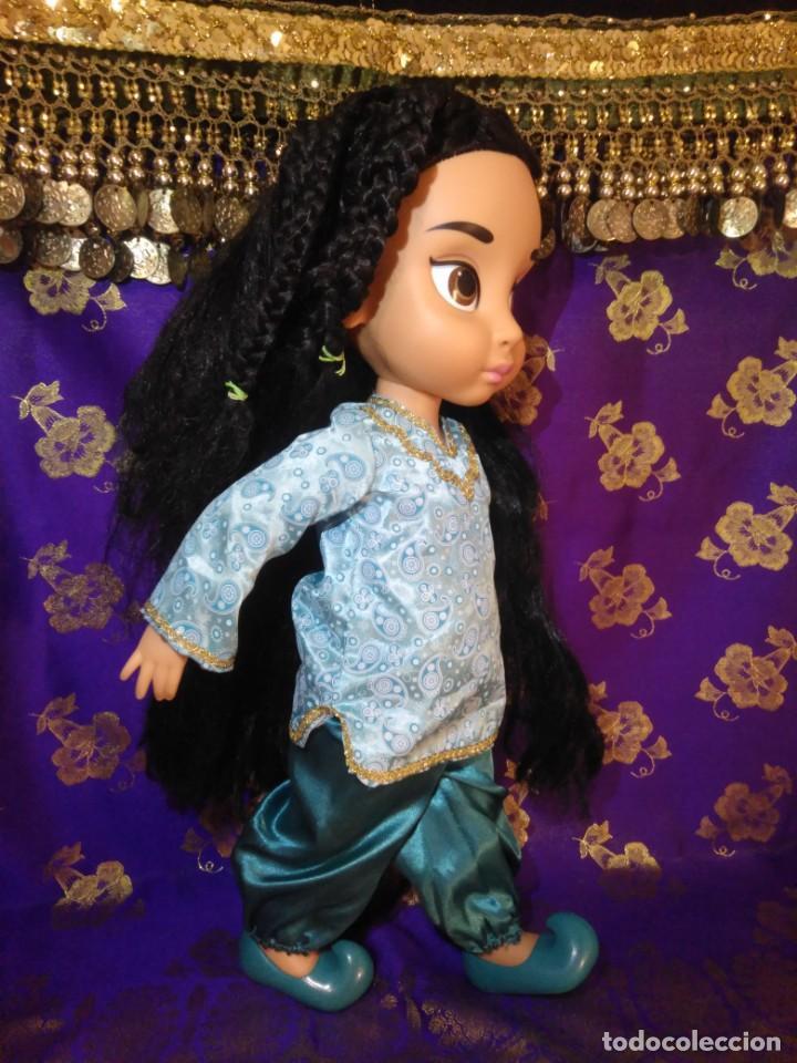 Muñecas Españolas Modernas: Preciosa Muñeca Jasmine,1°Edición,Animators De Colección Disney Store Original,Aladdin. - Foto 5 - 168647792