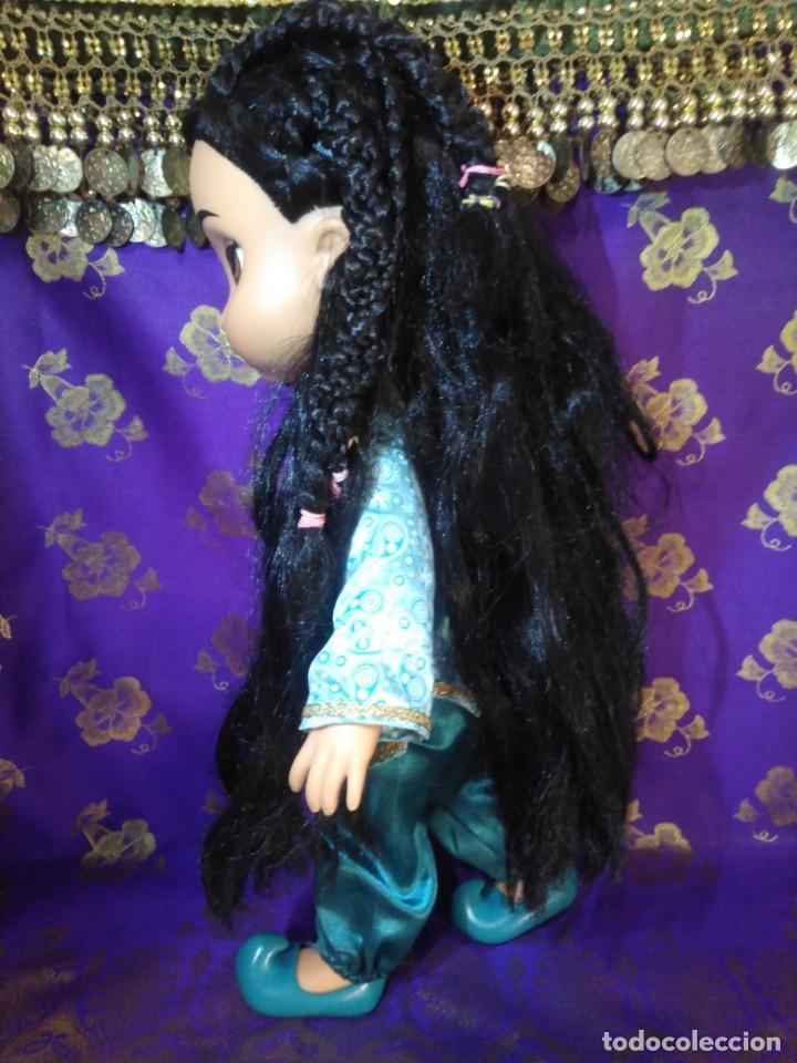 Muñecas Españolas Modernas: Preciosa Muñeca Jasmine,1°Edición,Animators De Colección Disney Store Original,Aladdin. - Foto 7 - 168647792