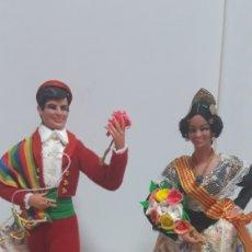 Muñecas Españolas Modernas: MARIN CHICLANA PAREJA DE MUÑECOS. Lote 169288870