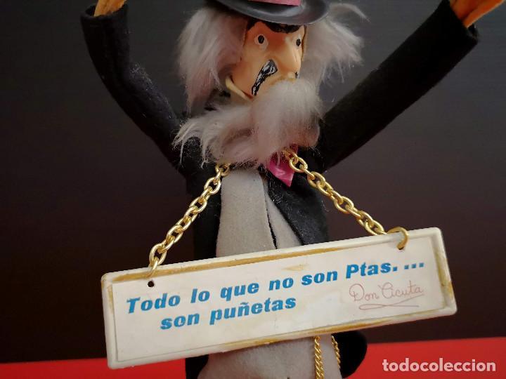 Muñecas Españolas Modernas: muñeco Don Cicuta Un Dos Tres programa TV en fieltro y cabeza plástico años 80 - Foto 7 - 171103929