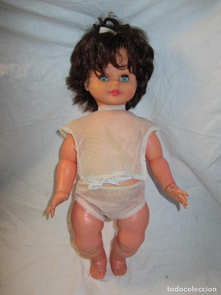 Muñecas Españolas Modernas: Muñeca bebé Made in Spain 50 cm de altura, cuerpo de plástico y cabeza de goma - Foto 2 - 171146405