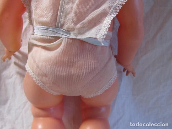 Muñecas Españolas Modernas: Muñeca bebé Made in Spain 50 cm de altura, cuerpo de plástico y cabeza de goma - Foto 6 - 171146405