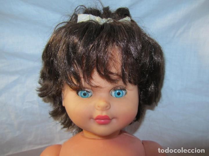 Muñecas Españolas Modernas: Muñeca bebé Made in Spain 50 cm de altura, cuerpo de plástico y cabeza de goma - Foto 9 - 171146405