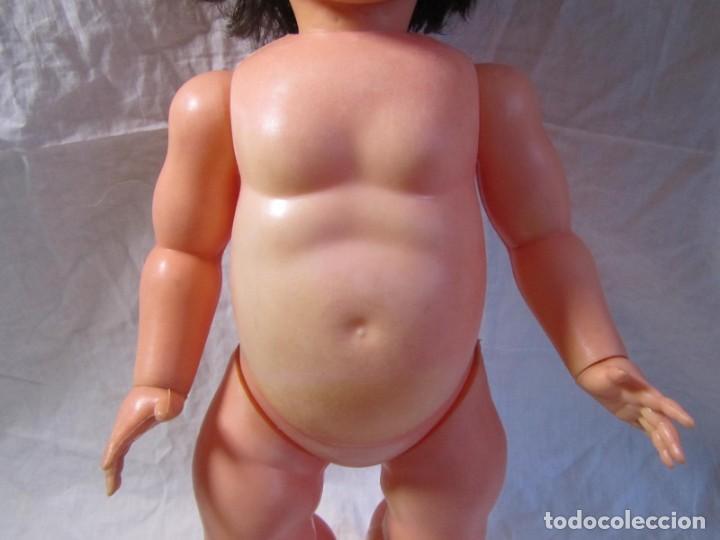Muñecas Españolas Modernas: Muñeca bebé Made in Spain 50 cm de altura, cuerpo de plástico y cabeza de goma - Foto 10 - 171146405