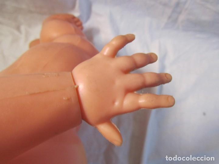 Muñecas Españolas Modernas: Muñeca bebé Made in Spain 50 cm de altura, cuerpo de plástico y cabeza de goma - Foto 13 - 171146405