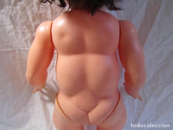 Muñecas Españolas Modernas: Muñeca bebé Made in Spain 50 cm de altura, cuerpo de plástico y cabeza de goma - Foto 15 - 171146405