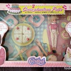 Muñecas Españolas Modernas: MUÑECA CHABEL CUMPLEAÑOS FELIZ EN CAJA.. Lote 171460012