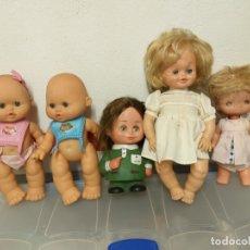 Muñecas Españolas Modernas: LOTE DE 5 MUÑECAS, TINUKIS, FONTER.... Lote 172019168