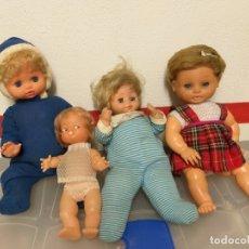 Muñecas Españolas Modernas: LOTE DE 4 MUÑECAS. Lote 172020509