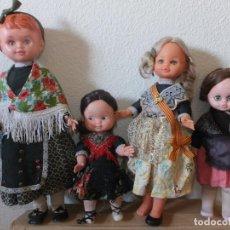 Muñecas Españolas Modernas: LOTE MUÑECAS ANTIGUAS. Lote 172106219