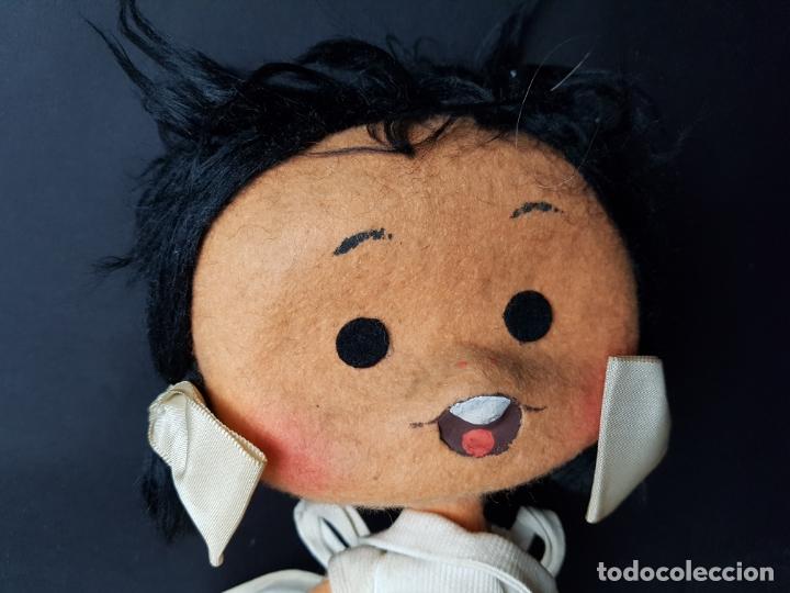 Muñecas Españolas Modernas: curiosa muñeca cleo familia telerin de fieltro - Foto 2 - 172251232