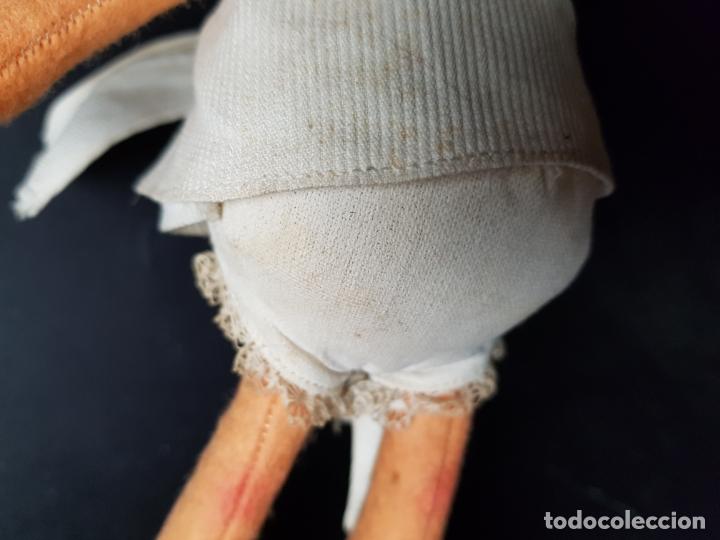 Muñecas Españolas Modernas: curiosa muñeca cleo familia telerin de fieltro - Foto 5 - 172251232