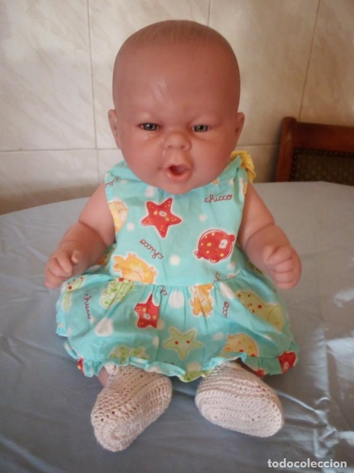 Muñecas Españolas Modernas: Preciosa muñeca bebe estilo reborn,niña,muy realista,en nuca 18f ce - Foto 2 - 172379684