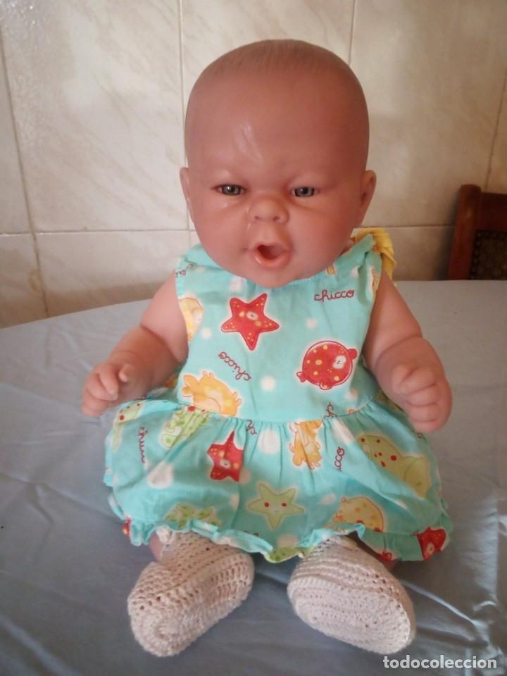 Muñecas Españolas Modernas: Preciosa muñeca bebe estilo reborn,niña,muy realista,en nuca 18f ce - Foto 3 - 172379684