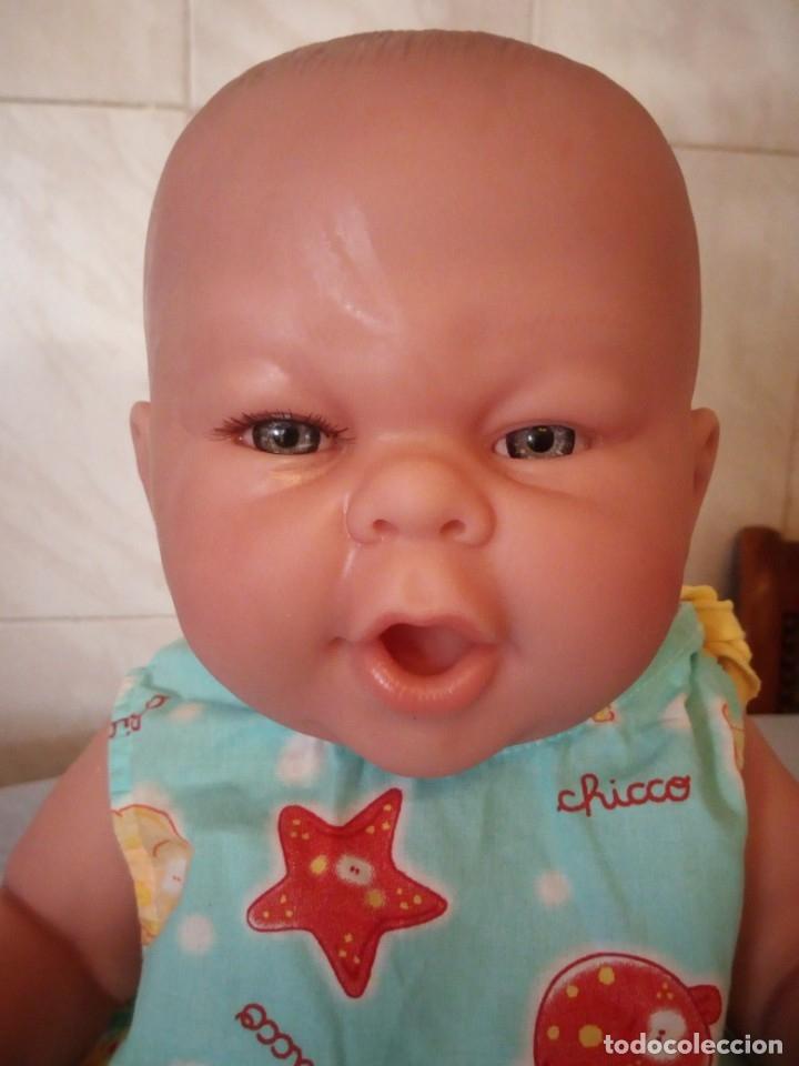 Muñecas Españolas Modernas: Preciosa muñeca bebe estilo reborn,niña,muy realista,en nuca 18f ce - Foto 4 - 172379684