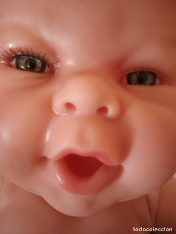 Muñecas Españolas Modernas: Preciosa muñeca bebe estilo reborn,niña,muy realista,en nuca 18f ce - Foto 16 - 172379684