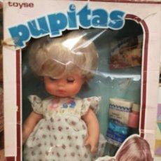 Muñecas Españolas Modernas: MUÑECA PUPITAS DE TOYSE EN CAJA. Lote 173000088