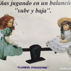 Muñecas Españolas Modernas: MUÑECAS PORCELANA BALANCÍN. Lote 173625910