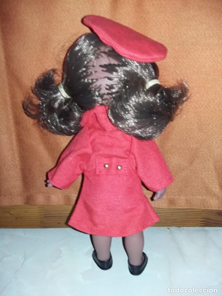 Muñecas Españolas Modernas: graciosa muñeca juanita negra o mulata de colección parecida a cuca nueva sin uso onil spain - Foto 3 - 175504852