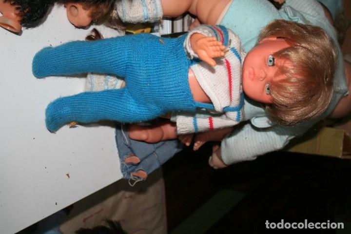 Muñecas Españolas Modernas: antiguo muñeco patoso de vicma con ropa original - Foto 6 - 176495917