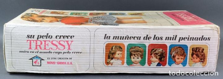 Muñecas Españolas Modernas: Caja vacía Muñeca Tressy Novo Gama Novogama años 60 - Foto 3 - 176838164