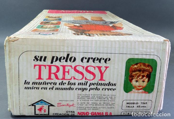 Muñecas Españolas Modernas: Caja vacía Muñeca Tressy Novo Gama Novogama años 60 - Foto 4 - 176838164