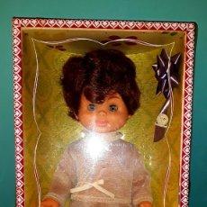 Bonecas Espanholas Modernas: MI MUÑECO SANTI EN CAJA DE GUILLEM Y VICEDO AÑOS 60 VER FOTOS Y DESCRIPCION. Lote 176966073