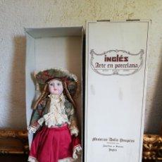Muñecas Españolas Modernas: MUÑECA PORCELANA INGLES JOSEFINA Y RAMON. Lote 177277909