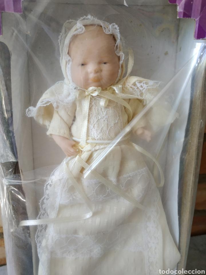 Muñecas Españolas Modernas: Bebé de porcelana, en su caja. Vintage - Foto 2 - 177397920