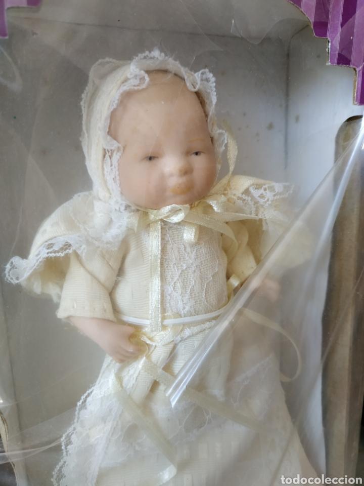 Muñecas Españolas Modernas: Bebé de porcelana, en su caja. Vintage - Foto 3 - 177397920