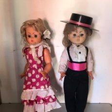 Muñecas Españolas Modernas: LOTE 2 MUÑECAS ESPAÑOLAS. Lote 177521358