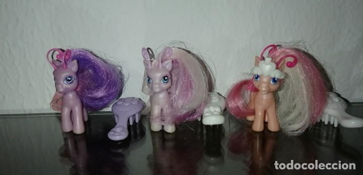 Muñecas Españolas Modernas: MY LITTLE PONY HASBRO 2005 Lote de tres figuras de Mi pequeño poni, generación 3 Breezie - Foto 2 - 177951198