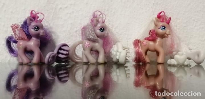 Muñecas Españolas Modernas: MY LITTLE PONY HASBRO 2005 Lote de tres figuras de Mi pequeño poni, generación 3 Breezie - Foto 6 - 177951198