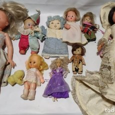 Muñecas Españolas Modernas: LOTE DE MUÑECAS, LA QUE APARECE NO ES UNA NANCY ES UNA COPIA. Lote 178735403