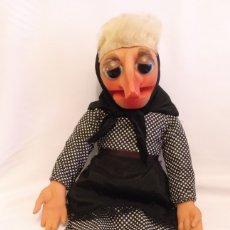 Muñecas Españolas Modernas: MUÑECA DOÑA ROGELIA DE 67 CM MARIONETA DE LOS AÑOS 70 DE VICMA.. Lote 180005130