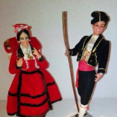 Muñecas Españolas Modernas: PAREJA DE MUÑECOS PASIEGOS, CANTABRIA, DE MARÍN CHICLANA.. Lote 180212935