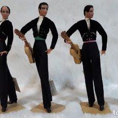 Muñecas Españolas Modernas: 4 MUÑECOS MARIN DE CHICLANA . Lote 182043523