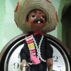 Muñecas Españolas Modernas: MARIONETA MARIACHI MEXICANO. CABEZA EN MUY BUEN ESTADO. 40 CM ALTA. Lote 182813542