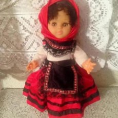 Muñecas Españolas Modernas: PRECIOSA MUÑECA CON VESTIDO VESTUARIO REGIONAL. Lote 183033683