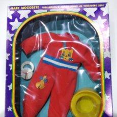 Muñecas Españolas Modernas: BABY MOCOSETE. EQUIPO DORMIR + ORINAL + CHUPETE. NUEVO. Lote 183536747